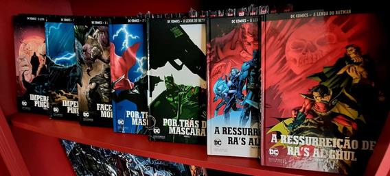 Coleção A Lenda Do Batman (14 Edições) - Eaglemoss