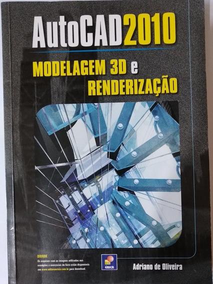 Livro Autocad 2010 Modelagem 3d E Renderização
