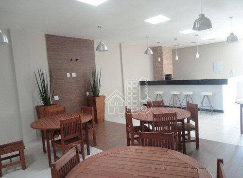 Apartamento Com 2 Dormitórios À Venda, 59 M² Por R$ 295.000,00 - Maceió - Niterói/rj - Ap2389