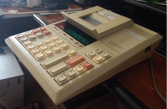 Calculadora De Mesa Com Bobina Facit C375