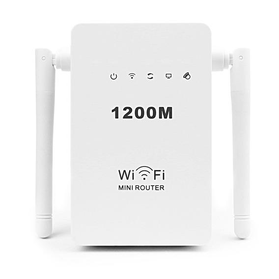 Repetidor Super Wi-fi Mini Roteador Wireless 2 Antenas 1200m