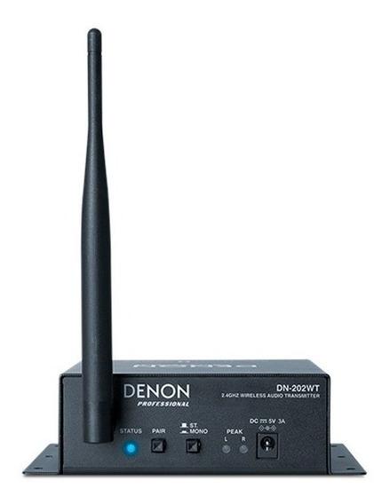 Denon Pro Dn202wt Transmisor De Audio Inalámbrico