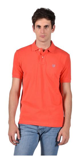 Polo Classic Fit Chaps Naranja 750684781-2yzf Hombre