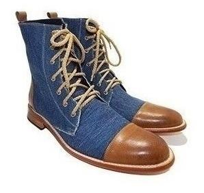 Borcegos Casual Jeans Priamo Italy!