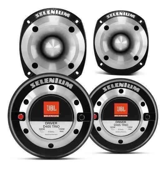 Kit 2 Drivers Jbl Selenium D405trio 300wrms + 2 St400 Trio