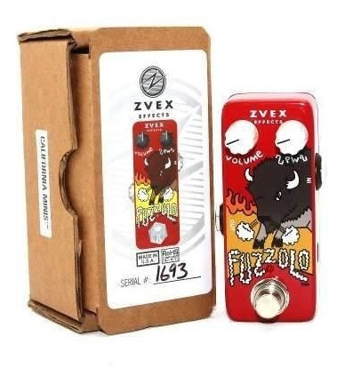 Pedal Zvex Fuzzolo Efeito Fuzz Guitarra Pronta Entrega Novo
