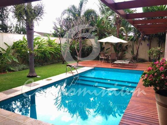 Casa Em Condomínio Para Aluguel, 4 Quartos, 2 Vagas, Village Flamboyant - São José Do Rio Preto/sp - 621