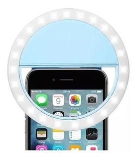 Luz Selfie Ring Light Clipe Anel Led Flash