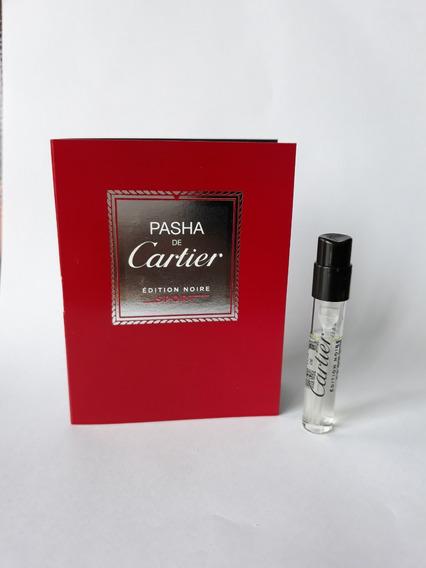 Amostra Perfume Pasha De Cartier Edition Noire Sport Fretegr