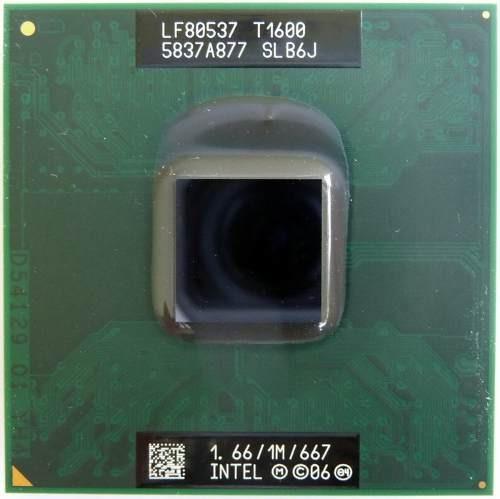 Processador Intel Celeron T1600 1.66/1m/667