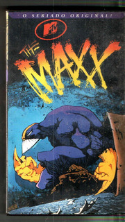 Vhs Mtv The Maxx O Seriado Original