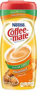 Coffe Mate Crema En Polvo De Cafe Avellana 6x10,2oz 0 Azucar