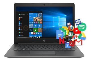 Notebook Hp Computadora Portatil 4gb Ram 14 Pulgadas Nueva