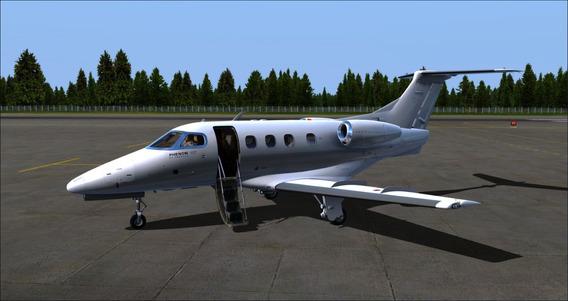 Simulador De Voo Completo Acompanha Aeronave Jato Executivo