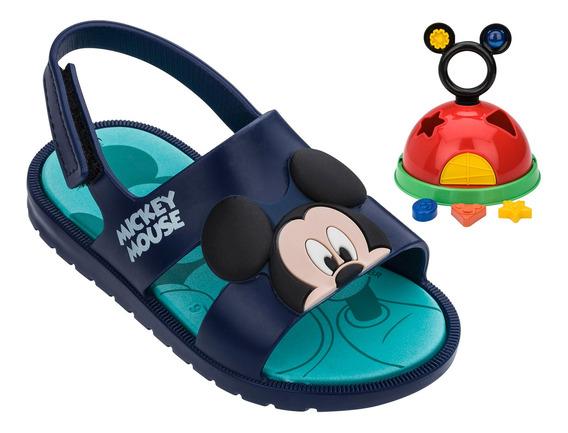 Sandália Papete Infantil Menino Grendene Disney Mickey 21996