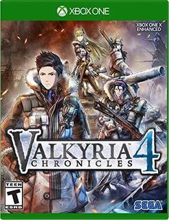 Valkyria Chronicles 4 Xbox One Nuevo Sellado Envio Gratis