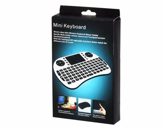 Mini Teclado Wireless Keyboard Mouse Smart Tv Samsung LG