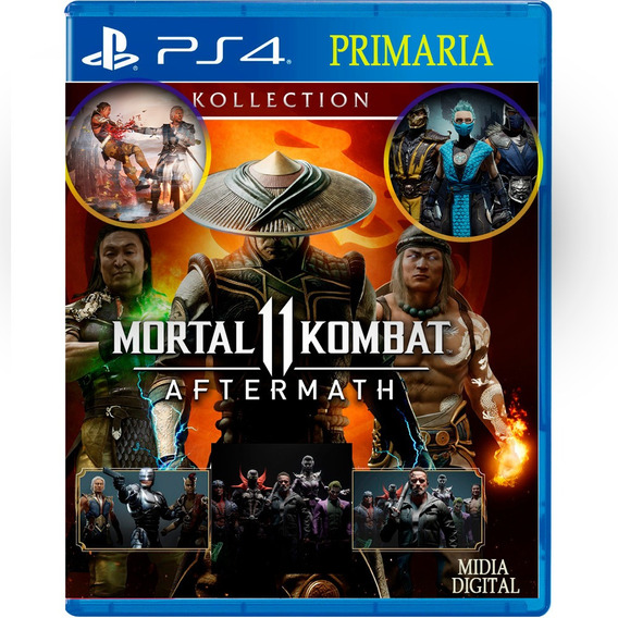 Mortal Kombat 11 Digital1 Koleção Orig1 - Enviando