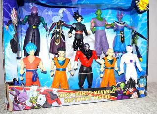 Goku, Dragon Ball Super, 10 Muñecos Del Torneo De Fuerza