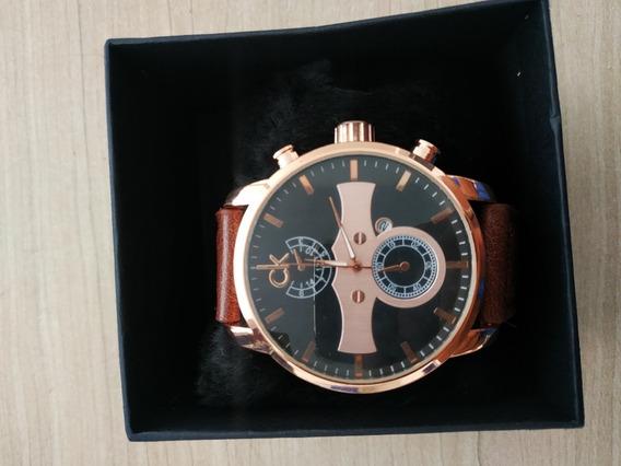 Relógio Calvin Klein K2g177c3 Couro