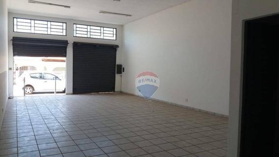 Salão Para Alugar, 80 M² Por R$ 1.500,00/mês - Centro - Nova Odessa/sp - Sl0077