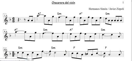 Partituras De Folklore Argentino Para Todos Los Instrumentos Mercado Libre