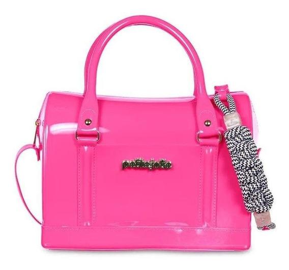Bolsa Baú Petite Jolie Pj4408 Bloom Rosa Pink