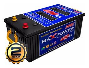 Bateria Maxpower 400ah 3000 De Pico (2 Anos De Garantia)