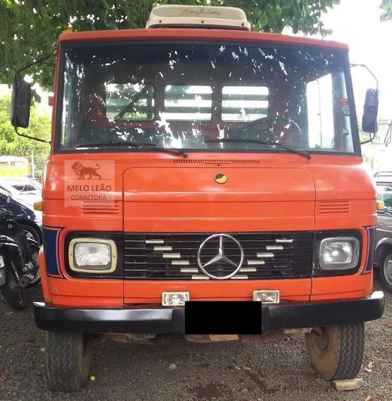 Mb L 608 D - 81/81 - Carroceria De Madeira, Motor Feito*
