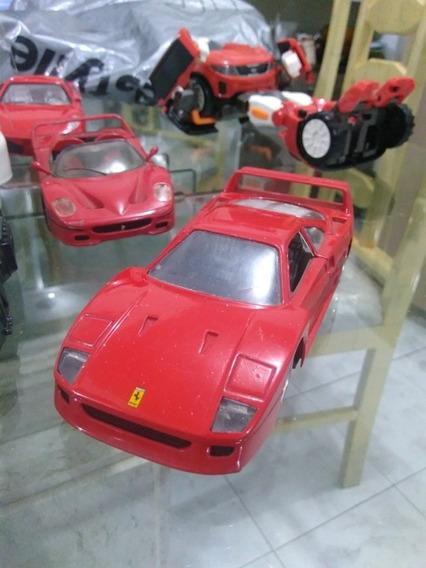 Ferrari F 40 Escala 1/24 Com Detalhes