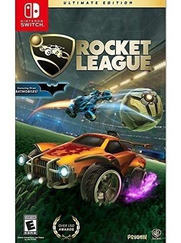 Rocket League Ultimate Edition Switch Mídia Física