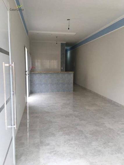 Casa Com 2 Dormitórios À Venda, 77 M² Por R$ 230.000 - Jardim Santa Cruz - Mogi Guaçu/sp - Ca1434