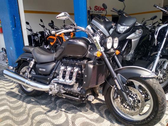 Triumph Rocket Iii Roadster Abs 2016 1500 Km Moto Slink