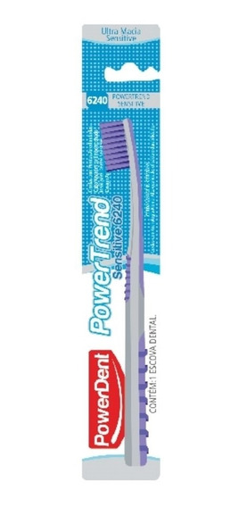 Escova Dental Powertrend Sensitive 6240 Powerdent