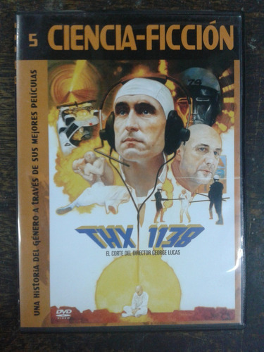 Imagen 1 de 4 de Thx 1138 (1970) * 2 Dvd * Ciencia Ficcion *
