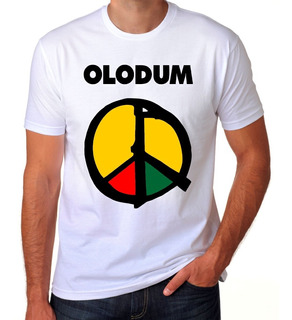 Camiseta Camisa Personalizada Banda Reggae Axé Olodum