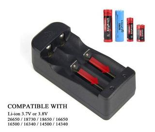 Cargador De Baterias Li-ion Usb Con Cable