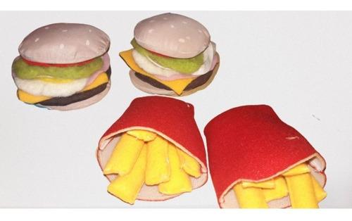Hamburguesas X 2.comida De Juguete . Juguete, Niños