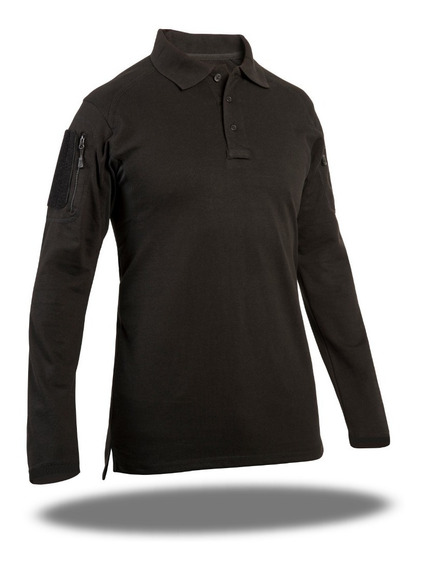 Playera Polo Tactica Comfortac Long Sk7 By 707 Tactical