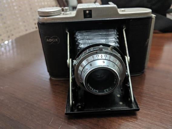 Câmera Alemã Adox Golf 6x6 120mm Obturador Funcion. Anos 50