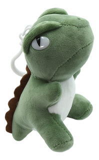 Dije Dinosaurio Encantador - Verde Oscuro