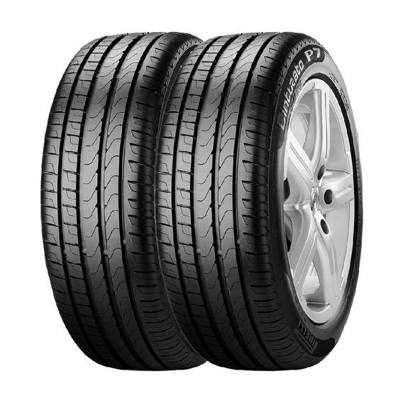 Combo X2 Neumaticos Pirelli 205/45r17 88v Xl P7cin
