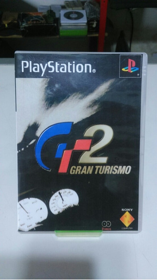 Jogo Gran Turismo 2 Cd Duplo ( Patch ) Novo Playstation 1