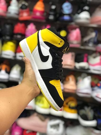 Tenis Jordan 1 Amarillo