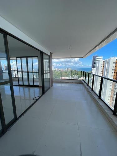 Apartamento À Venda, 4 Quartos, 4 Suítes, 3 Vagas, Barra - Salvador/ba - 1242