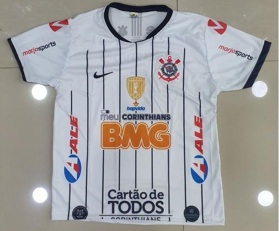 Camisa Infantil Corinthians Branca
