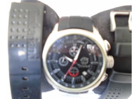 Relógio Timberland Modelo Qt7129101 Duas Pulseiras