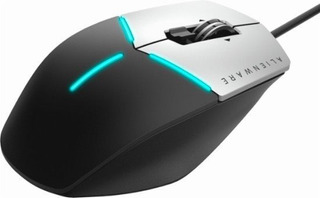 Alienware - Advanced Usb Optical Gaming Mouse - Black/silver