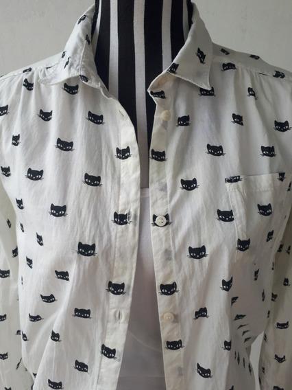 Camisa De Mujer, Marca: H&m, Original, Zona Sur.