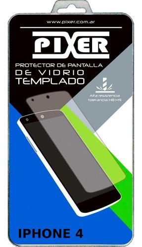 Vidrio Templado Pixer iPhone (modelos Desde Menu) Leer